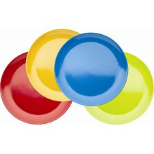 Miniamo Brights Melamine Plates (Set of 4)
