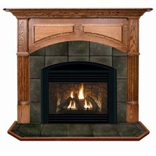 Deluxe Geneva Flush Fireplace Mantel Surround