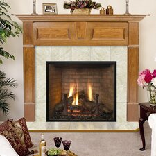 Lewiston Flush Fireplace Mantel Surround
