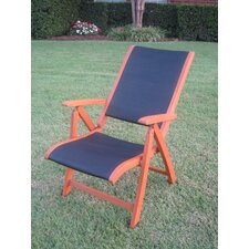 Williams Five-Position Folding Patio Lounge Chair (Set of 2)