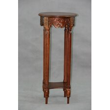 Carved Wood Furniture Multi-Tiered Telephone Table