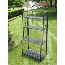 Iron Patio Baker's Rack