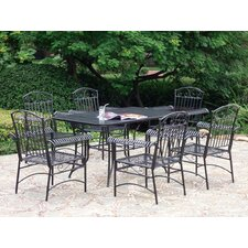 Iron Patio 7 Piece Dining Set