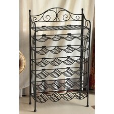 Iron Patio 24 Bottle Wine Rack
