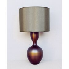 Ruby Table Lamp with Shade