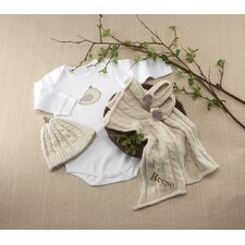 """Feathering the Nest"" 4 Piece Layette Gift Set"