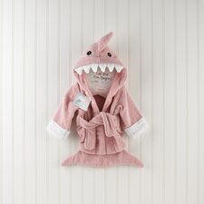"""Let the Fin Begin"" Shark Robe in Pink"