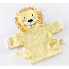Big Top Baby Lion Hooded Spa Robe
