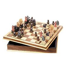 Animal Chessmen with Board