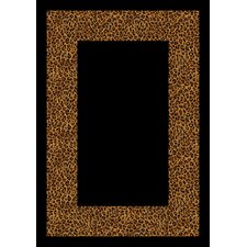 Design Center Wasabu Golden Leopard Rug