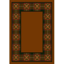 Design Center Country Clubs Dark Amber Rug