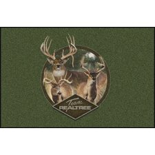 Realtree Team Realtree Bucks IX Novelty Rug