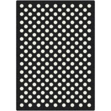 Black & White Eclipse Nightfall Rug