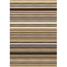 Innovation Lola Dark Amber Striped Rug