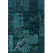 Revival Teal/Gray Persian Rug