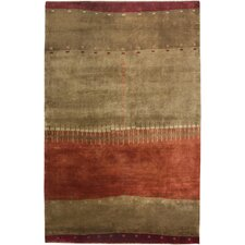 Organza Brown Tribal Rug