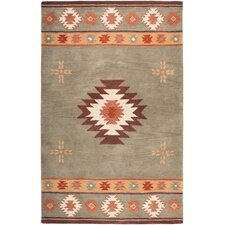 Southwest Green Rug