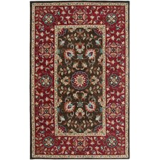 Camden Brown/Red Persian Rug