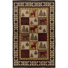 Country Brown Rug