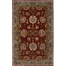 Bentley Red/Green Persian Rug