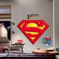 Superman Logo Wall Graphic