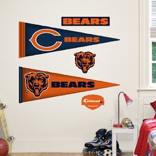 NFL Pennant Wall Graphic