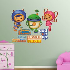 Team Umizoomi Wall Graphic