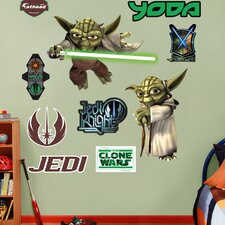 Star Wars Yoda Wall Graphic