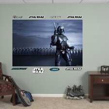 Star Wars Jango Fett Clone Arm Illustrated Wall Mural