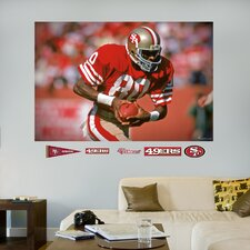 NFL San Francisco 49ers Jerry Rice Wall Mural