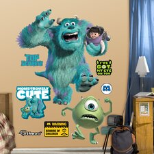 Disney Monsters Inc. Wall Graphic