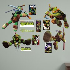Teenage Mutant Ninja Turtles Wall Graphic