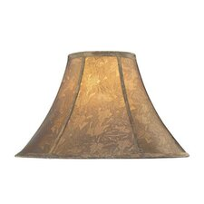 Jacquard Bell Lamp Shade in Gold