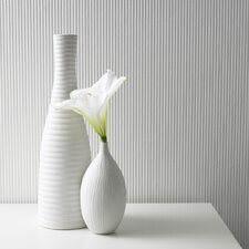 Paintable Corduroy Wallpaper in White