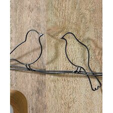 Bird On A Wire Metal Art