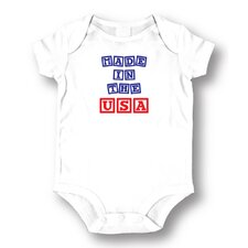 Made in the USA Baby Romper