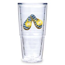 Flip Flop 24oz. Blue Tumbler (Set of 2)