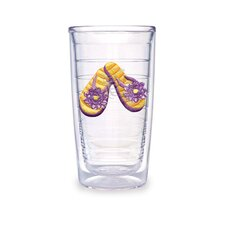 Flip Flop 16oz. Orange Tumbler (Set of 4)