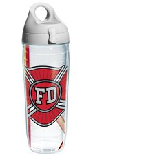 Wrap Firefighter Water Bottle