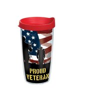 16 Oz. Wrap Proud Veteran Tumbler (Set of 4)