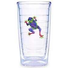 Frog Purple 16 oz. Tumbler (Set of 4)