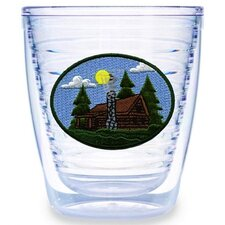 Log Cabin 12 oz. Tumbler (Set of 4)