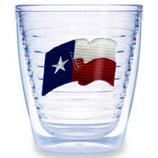 Texas Flag 12 oz. Tumbler (Set of 4)