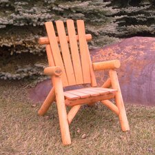 Cedar Stained Lawn Chair