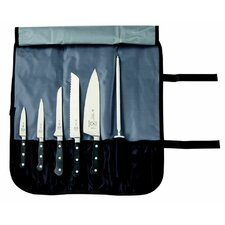 Renaissance 7 Piece Forged Knife Roll Set