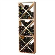 Premium Redwood 132 Bottle Wine Rack