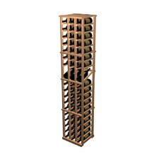 Designer Series 57 Bottle 3 Column Individual with Display Wine Rack