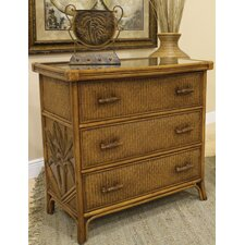 Cancun Palm 3 Drawer Chest
