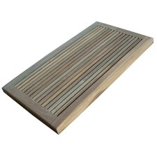 Greenface Teak Doormat in Natural