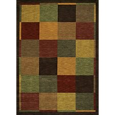 Modernworks Uptown Brown Multi Rug